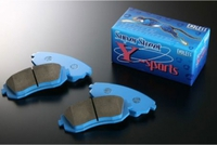 Тормозные колодки Endless Y-Sports EP291 (R506/906/206) Nissan Skyline BNR32 GTR, BCNR33, BNR34, Mitsubishi EVO 7-9 CT9A brembo, GDB/GRB (WRX Sti brembo), Endless