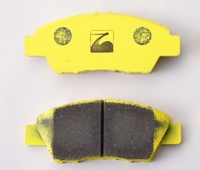 Тормозные колодки на S2000 AP1, AP2/Civic EP3 для передней оси, Spoon
