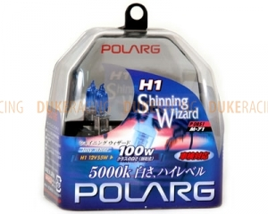 Лампы галогенные Polarg Shinning Wizard M-71 H1 12V 55W(100W) 5000K