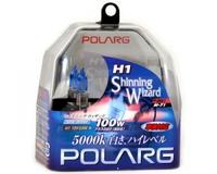 Лампы галогенные Polarg Shinning Wizard M-71 H1 12V 55W(100W) 5000K, Polarg