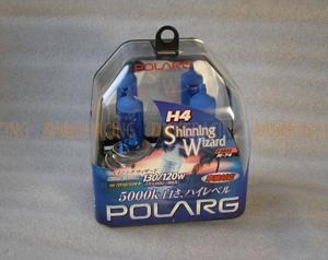Лампы галогенные Polarg Shinning Wizard M-74 H4 12V 60/55W(130/120W) 5000K