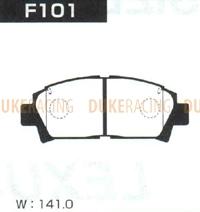 Тормозные колодки Project Mu B-Spec F101 (передние) Toyota Celica Caldina Carina Corolla