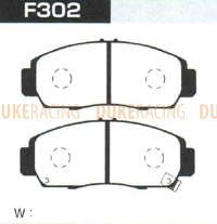 Тормозные колодки Project Mu NS-Zero F302 (передние) Honda Accord Insire Legend Odyssey Torneo