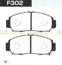 Тормозные колодки Project Mu B-Spec F302 (передние) Honda Accord Euro-R Inspire Legend Odyssey (Absolute)