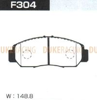 Тормозные колодки Project Mu NS F304 (передние) Honda Accord Civic Edix Stepwgn Stream Odyssey