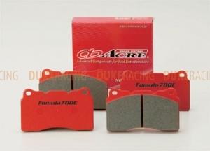 Тормозные колодки Acre Formula700c RP002 (F1076) ap 4 pot/Trust alcon/Proma 4pot