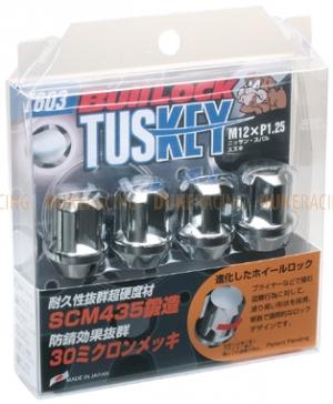 Секретки KYO-EI Bullock Tuskey M12x1,25 черные