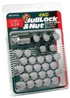 Колесные гайки KYO-EI с секретками Bullock Lock&nut M12x1,25, KYO-EI