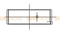 Вкладыши шатунные ACL Race для двигателей Nissan RB25/26 STD