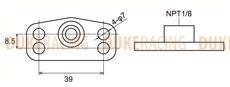 Адаптер топливного регулятора Honda, Tomei