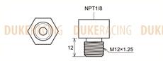 Адаптер топливного регулятора Toyota 1JZ-GTE, 3S-GE, Tomei