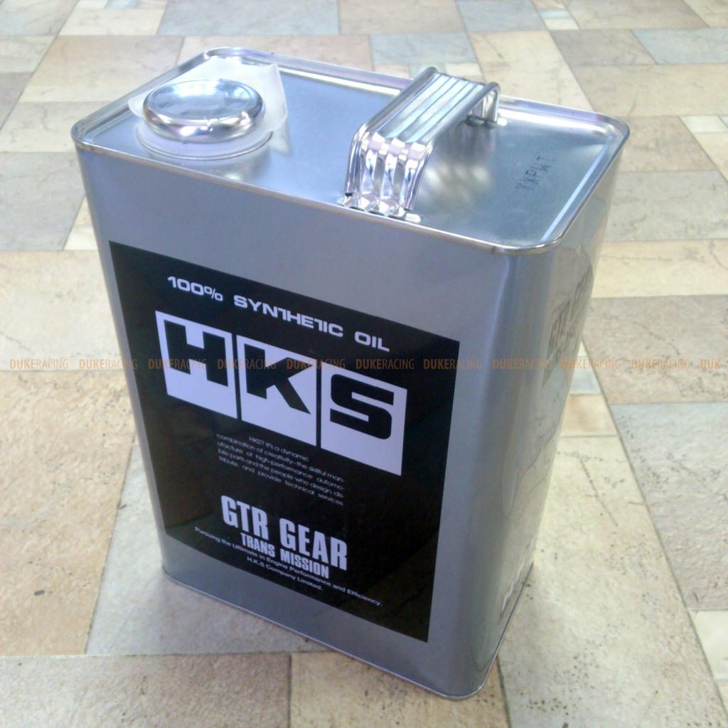Масло трансмиссионное GTR Gear 75W120 4л, HKS