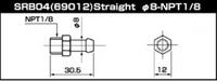 SARD Фитинг адаптера топливного регулятора SRB04, SARD