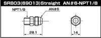 Фитинг адаптера топливного регулятора AN6, SARD, SARD