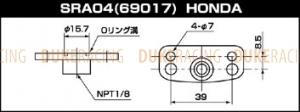Адаптер топливного регулятора SARD, Honda