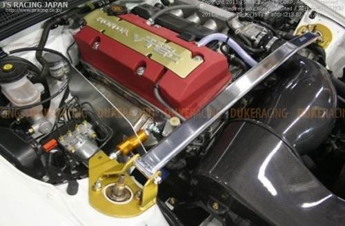 Распорка J's Racing распорка с демпфером двигателя на S2000 ETD-S1-T