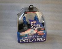 Лампы галогенные Polarg Shinning Wizard M-72 H3 12V 55W(100W) 5000K, Polarg