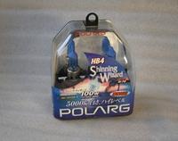 Лампы галогенные Polarg Shinning Wizard M-76 9006(HB4) 12V 55W(100W) 5000K, Polarg