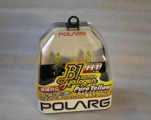 Лампы галогенные Polarg Halogen Pure Yellow Y-10 H1 12V 55W 2900K