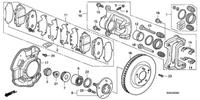 Гайка оси колеса, Honda S2000, Honda