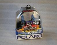 Лампы галогенные Polarg B1 Hybrid Halogen M-62 H3 12V 55W(100W) 4300K, Polarg