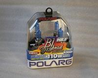 Лампы галогенные Polarg B1 Hybrid Halogen M-65 9005(HB3) 12V 65W(110W) 4300K, Polarg