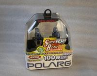 Лампы галогенные Polarg Super Beam Halogen White C-3 H3c 12V 55W(100W) 3800K, Polarg