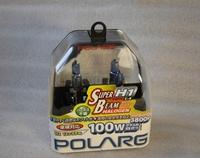 Лампы галогенные Polarg Super Beam Halogen White C-4 H1 12V 55W(100W) 3800K, Polarg