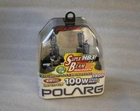 Лампы галогенные Polarg Super Beam Halogen White C-5 9005(HB3) 12V 65W(100W) 3800K, Polarg