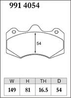 Тормозные колодки Dixcel Specom-β 9914054 AP RACING D54 TH16.5 CP7040 6POT, Dixcel