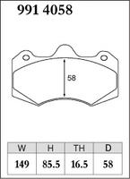 Тормозные колодки Dixcel Specom-β 9914058 AP RACING D58 TH16.5 CP7040 6POT, Dixcel