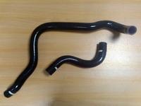 Патрубки радиатора силиконовые Honda Prelude 92-96 H22A черные, Autobahn88