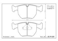 Тормозные колодки ENDLESS ME20 (CC40) EIP125 BMW E38 E39, Racing compound, передние, Endless