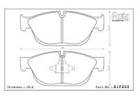 Тормозные колодки ENDLESS ME20 (CC40) EIP203 Peugeot RCZ, Racing compound, передние, Endless