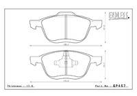 Тормозные колодки ENDLESS EP457 SSY Mazda Premacy, передние, Endless