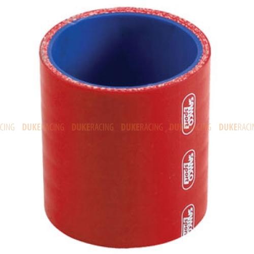 Патрубок силиконовый 60мм прямой красный, Samco