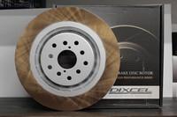 Тормозные диски Dixcel FP (forged plain) FP3617023S Fr. GDB BREMBO 114.3, Dixcel