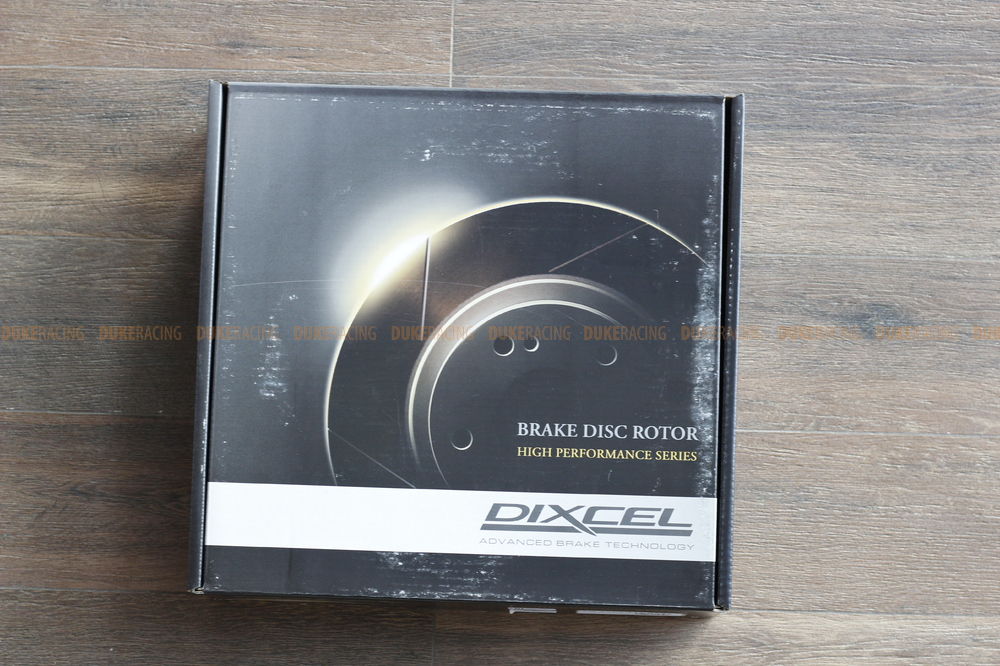 Тормозные диски Dixcel FS 2015+ Toyota Land Cruiser 200 Lexus LX570 передние комплект 2 шт.