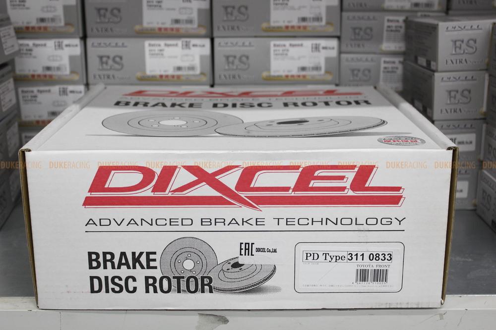 Тормозные диски Dixcel серии PD (Plain Disk) для Toyota Celsior UCF30/UCF31, Lexus LS430 (43512-50220, 4351250220) 315х30мм передние