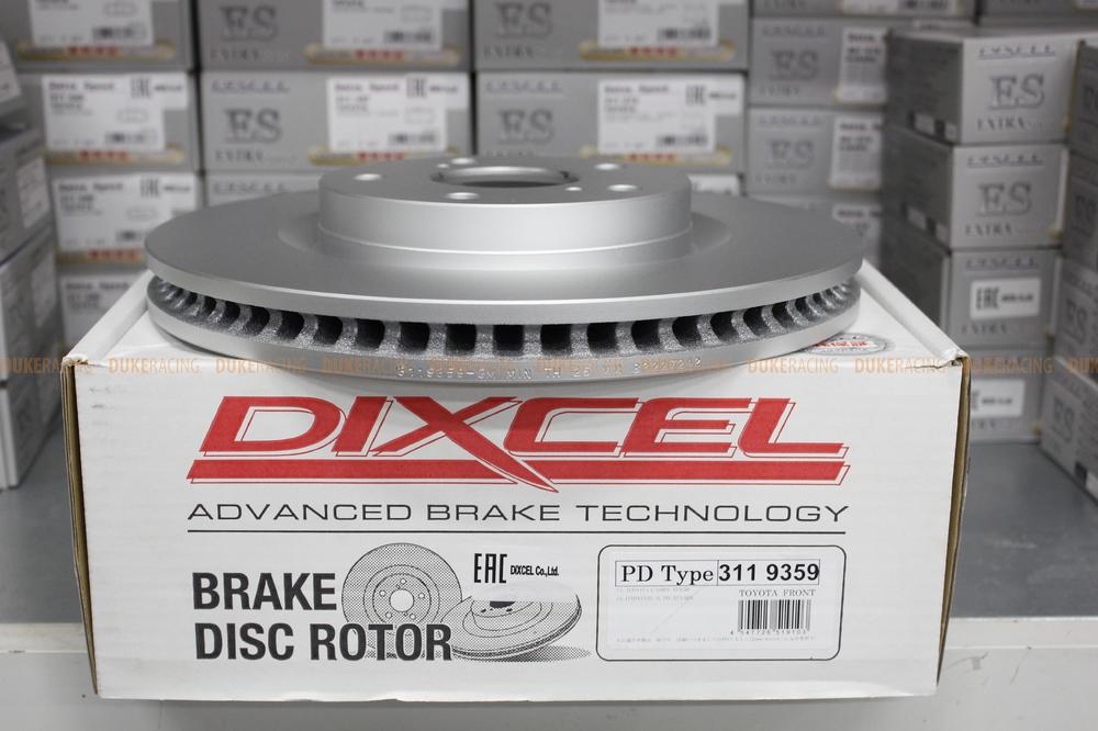 Тормозные диски Dixcel PD 296x28 для Toyota Camry V30-V50, RAV4 A3X-A4X,  Lexus ES,  передние