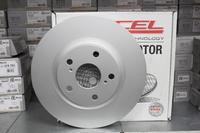 Тормозные диски Dixcel PD 296x28 для Toyota Camry V30-V50, RAV4 A3X-A4X,  Lexus ES,  передние, Dixcel