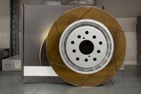 Тормозыне диски FS-3617023 FS (Forged Slotted) для Subaru Impreza GDB/GRB BREMBO 5x100/114.3 передние, Dixcel