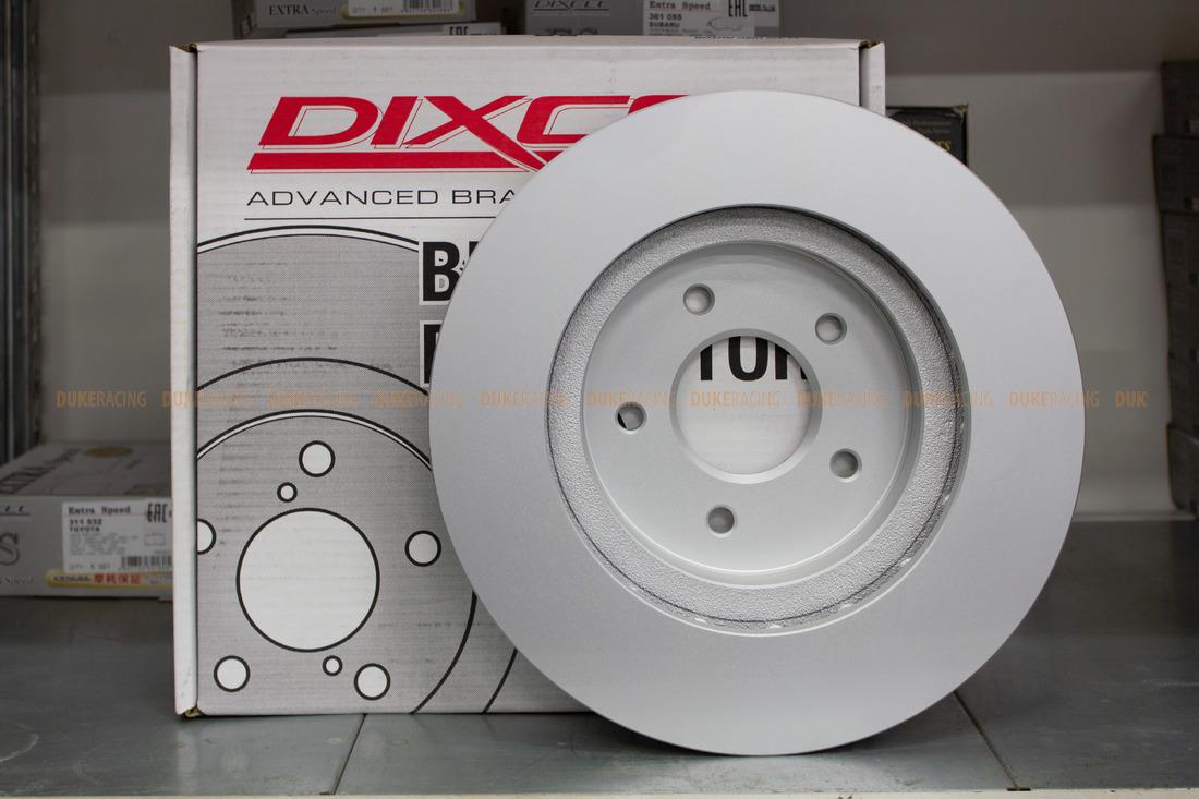 Тормозыне диски Dixcel Plain disk PD-3212021-PD без насечек для  Nissan Skyline ER34 GT turbo RB25DET 310x30 передние