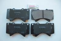 Тормозные колодки Dixcel ES Toyota LC200 ES-311556 передние, Dixcel