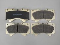Тормозные колодки Dixcel Z-type Toyota Land Cruiser 200/LC200,/Lexus 570 Z-311556 (EP464) передние, Dixcel