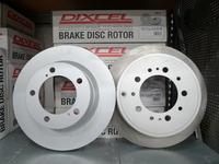 Тормозные диски Dixcel PD Toyota Land Cruiser 200 Lexus LX570 комплект перед+зад, 4 шт., Dixcel