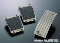 Комплект накладок на педали из титана Evo X 5МТ, RallyArt, RalliArt