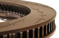 Тормозные диски Endless ER150 380x30 E-Racing Slit задние сменные полотна Nissan GTR R35, комплект 2шт., Endless