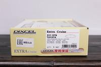 Тормозные колодки Dixcel Extra Cruise (EC) для Lexus NX RX 311579 EP477, передние, Dixcel