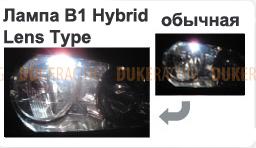 Лампы дополнительные Polarg B1 Hybrid Lens Type L12 T20 12V 21/5W белые